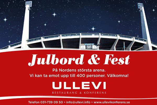 JULBORD och JULFEST - Ullevi restaurang och konferens i Göteborg.