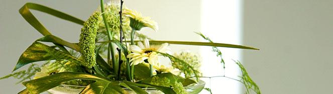 Blommor - ät mer grönt på lunchen.