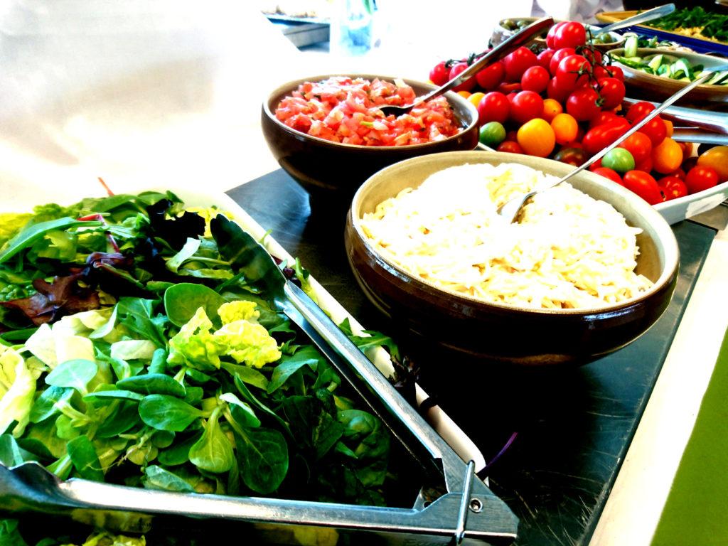 Mat på konferensen